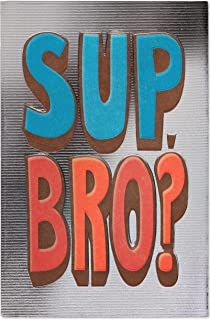 American Greetings Funny Birthday Card for Brother (Sup Bro)