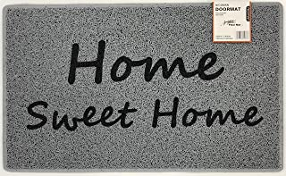 Nicoman Divertido tapete para Puerta, diseño de Espaguetis, P05-HOME+Sweet, 75 x 45 cm