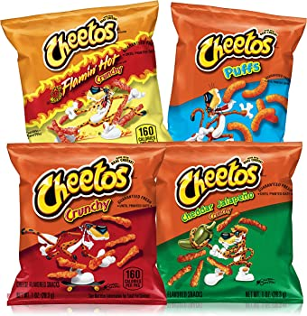 40-Count Cheetos Cheese Flavored Snacks Variety Pack