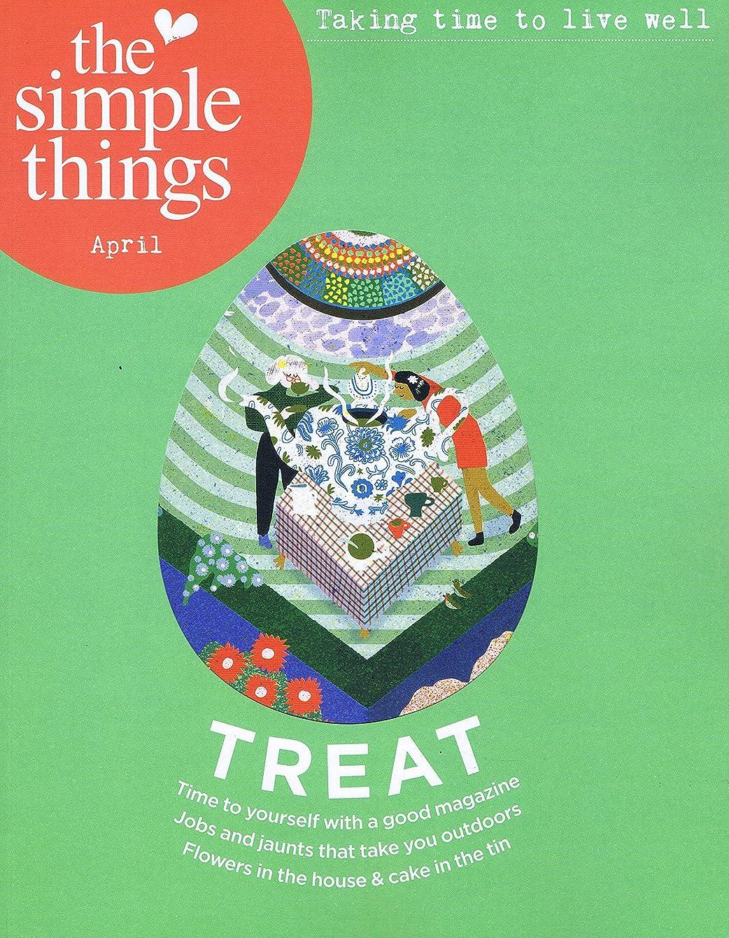 タバコ講師スチュアート島Simple Things [UK] April 2019 (単号)