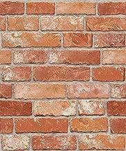 Vintage Brick Pattern Self-Adhesive Peel-Stick Prepasted Wallpaper (HSV632)