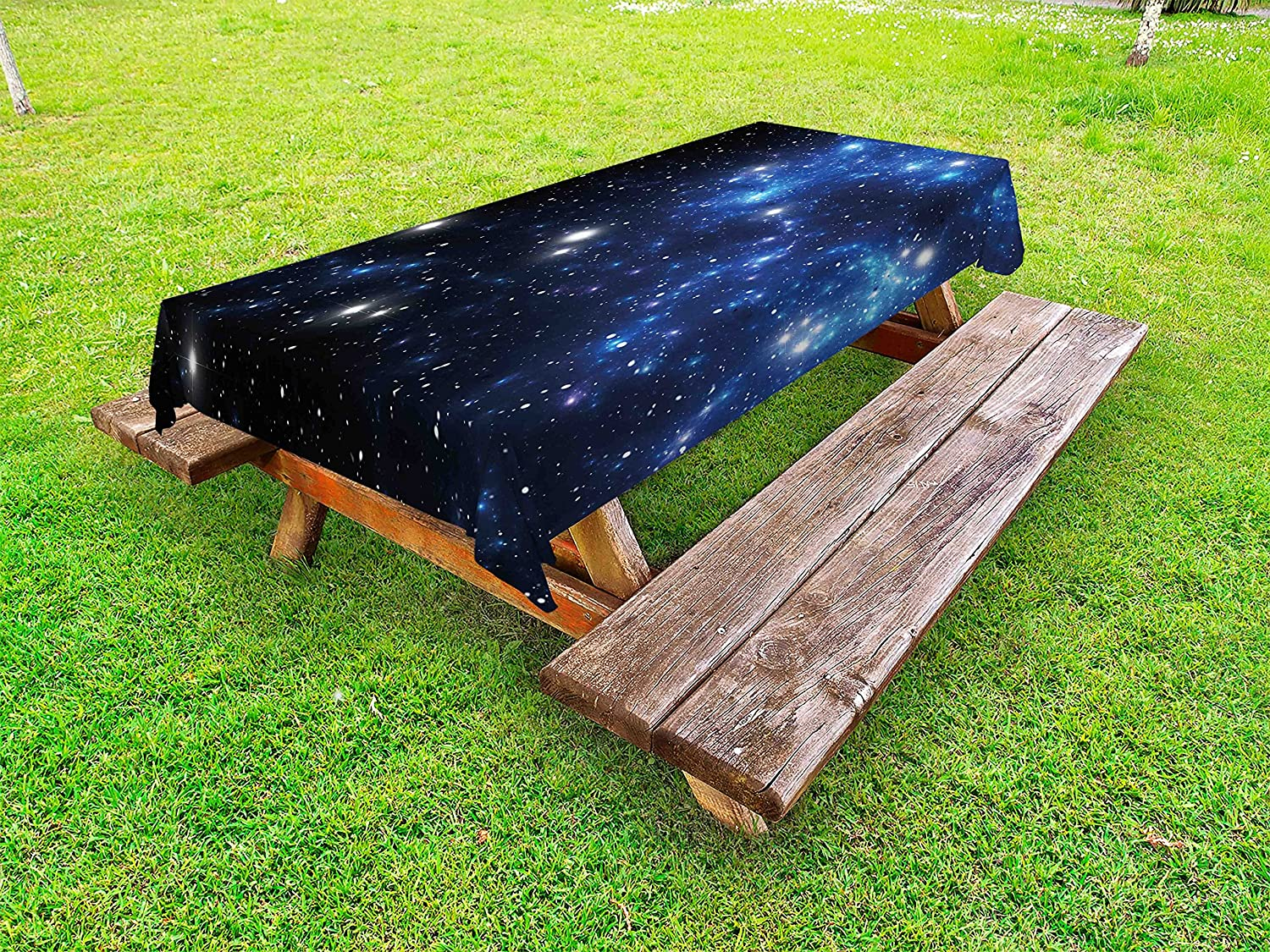 Ambesonne Constellation Outdoor Elegant Tablecloth Outer Fixed price for sale Star Neb Space