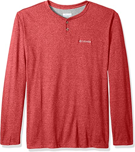 Columbia Hommes's Thistletown Park Big and Tall Henley, Rocket Heather, 1X