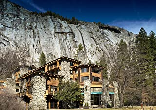 Vintography 24 x 36 Giclee Print ofThe Ahwahnee Hotel Yosemite National Park California n16 2007 Highsmith