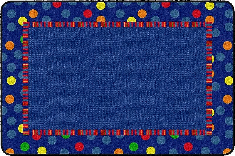 Flagship Carpets FE429 22A Dots Stripes Multi