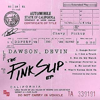 Devin Dawson - 'The Pink Slip' (EP)