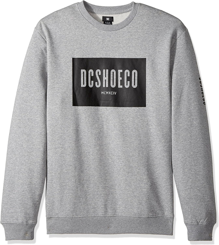 DC - Dc - Herren Squareside Fleece, Small, grau Heather B0722SD5VY  Billig