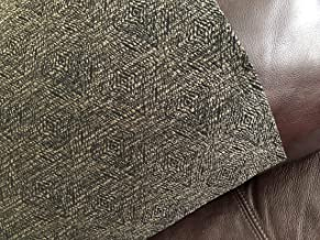 Sale Stitch N Art Chair Head Pad Recliner Headrest Colors Dk Brown Khaki New Inventory Chair Headrest Pad, Size 14x30, Use on Theater Seats,Recliners,Sofa
