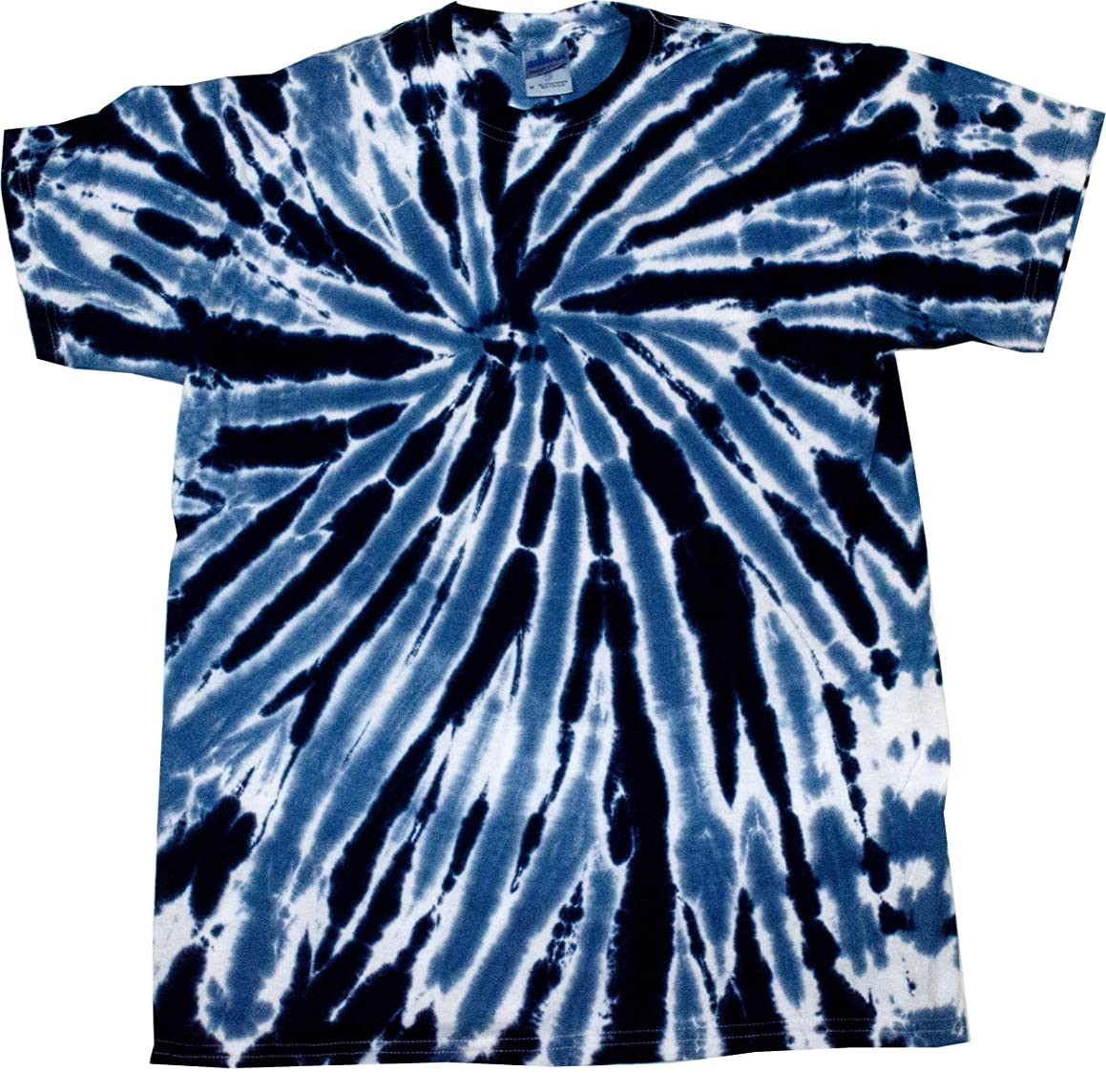 Colortone Tie Dye Twist Neon T-Shirt Kids & Adult up to 5XL
