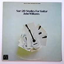 Sor: 20 Studies for Guitar / John Williams