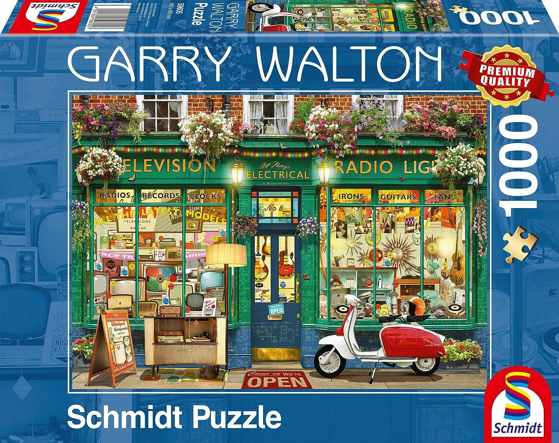 sale Schmidt 59605 Garry Walton-Electronics 1 year warranty Puzzle Shop Jigsaw 1000