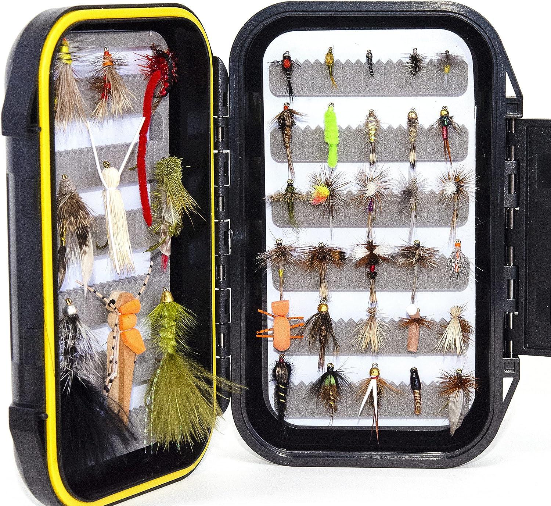 40 San Antonio Mall Favorite Trout Max 83% OFF Fly Kit Fishing Waterproof Flies