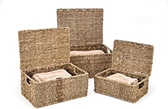 small covered basket