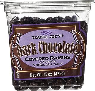 Trader Joes Dark Chocolate Covered Raisins