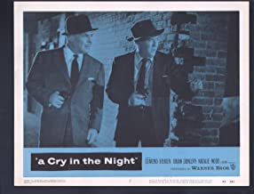 MOVIE POSTER: Cry in the Night Lobby Card #7-1956-Edmund O'Brien