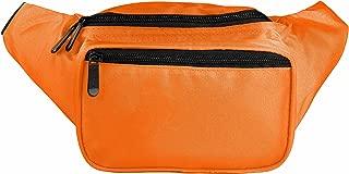 SoJourner Orange Fanny Pack - Festival Packs for men, women | Cute Waist Bag Fashion Belt Bags