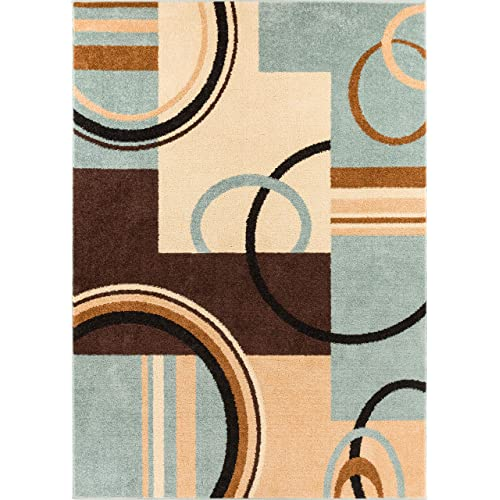 Beige And Light Brown Area Rug Amazon Com