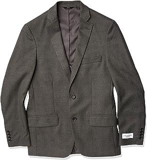 بدلة رجالي Haggar قابلة للتمدد باسكيويف 2 زر من الجانب معطف منفصل بدلة عمل جاكيت