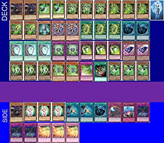 Yu-Gi-Oh! YUGIOH Tournament Ready PSY-Frame Deck Complete Side Deck Exclusive Phantasm Gaming Token + a Deck Box & 100 Sleeves