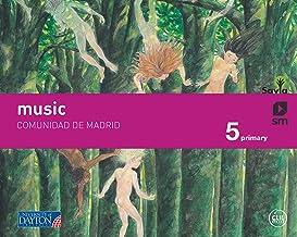 Music. 5 Primary. Savia. Madrid