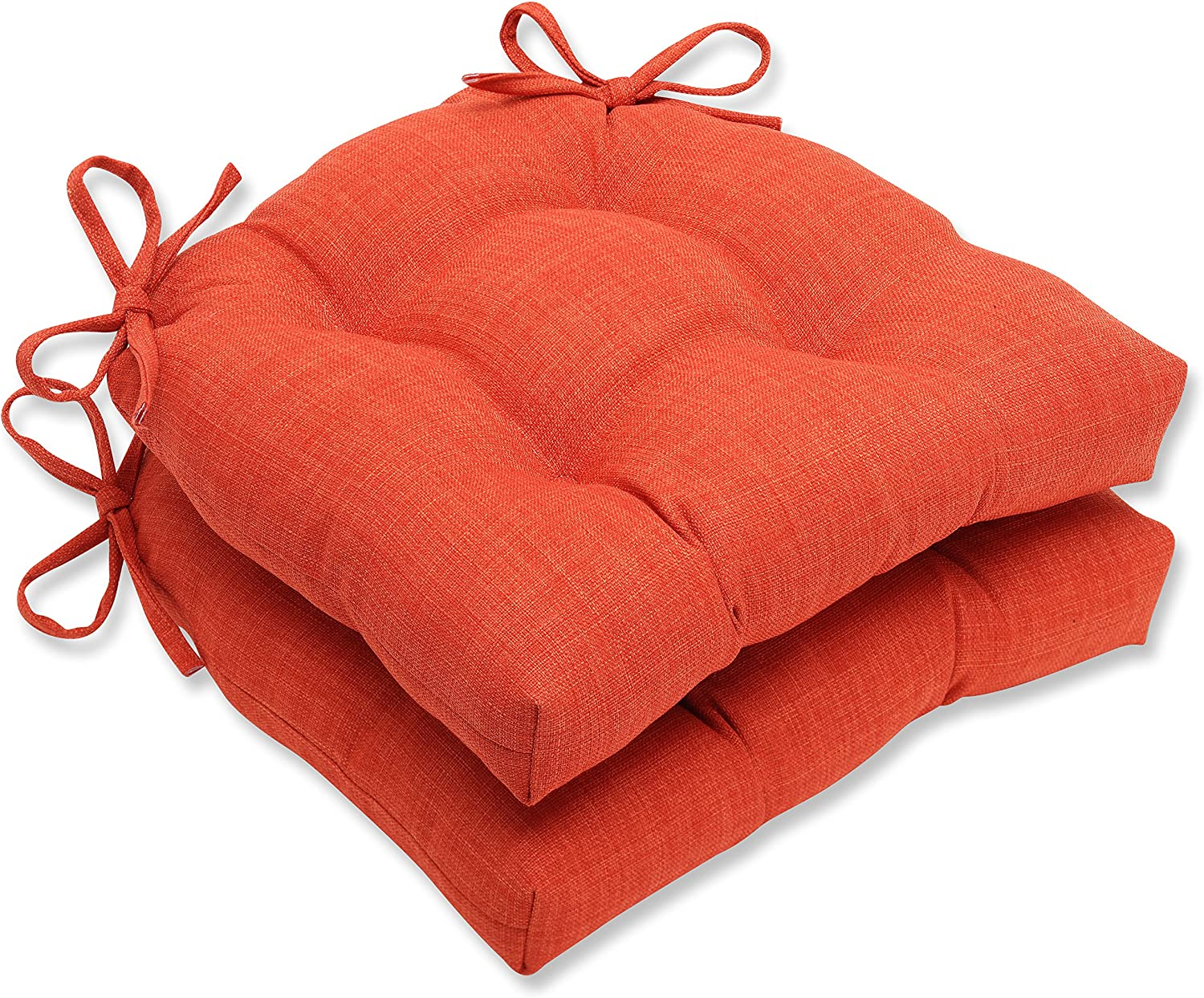 Pillow Perfect Pure Shock Reversible Chair Pad, Set of 2, 16  x 4  x 15.5