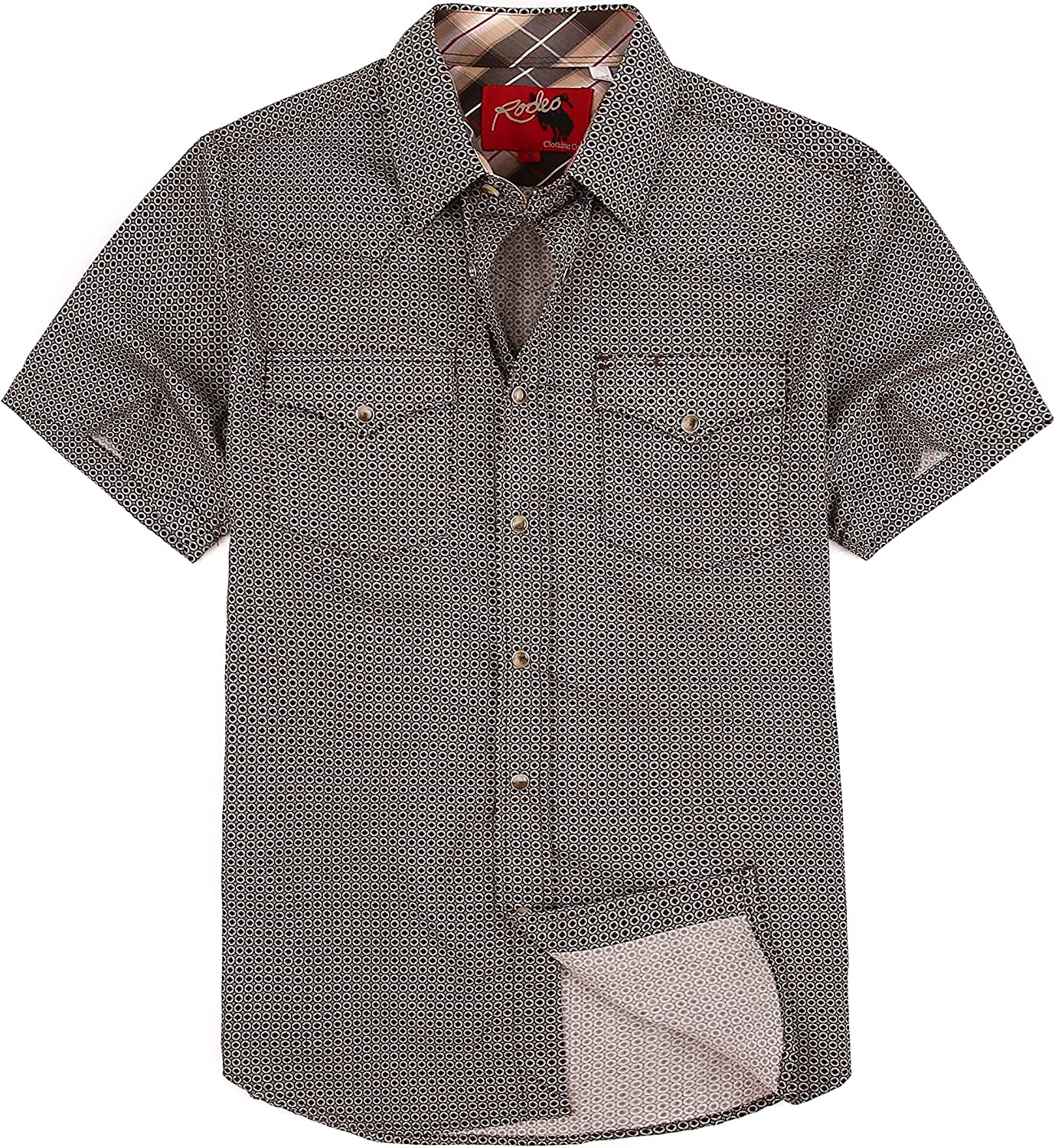 RCCO RODEO CLOTHING COMPANY Mens Casual Button Long Beach Mall Brand new Regul Shirts Down