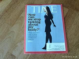 Time Magazine - February 8, 2016. Barbie's New Body; Sia; Zika Virus; Accidental UFO Photo?; Naming Planet 9; Abe Vigoda; Mob Aggression; Marvin Minsky; Rouhani; Jhumpa Lahiri; 'The Witness' Vidgame