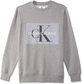 Calvin Klein Men's J307742-Grey Pullover Tops