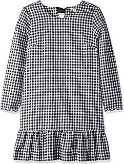 J.Crew Mercantile Women's Flannel Ruffle Hem Dress