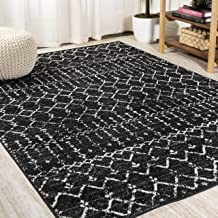 8x10 Black Pattern Area Rugs