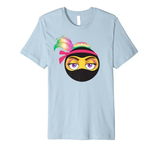 Amazon.com: Ninja Unicorn Hair Emoji T-shirt: Clothing