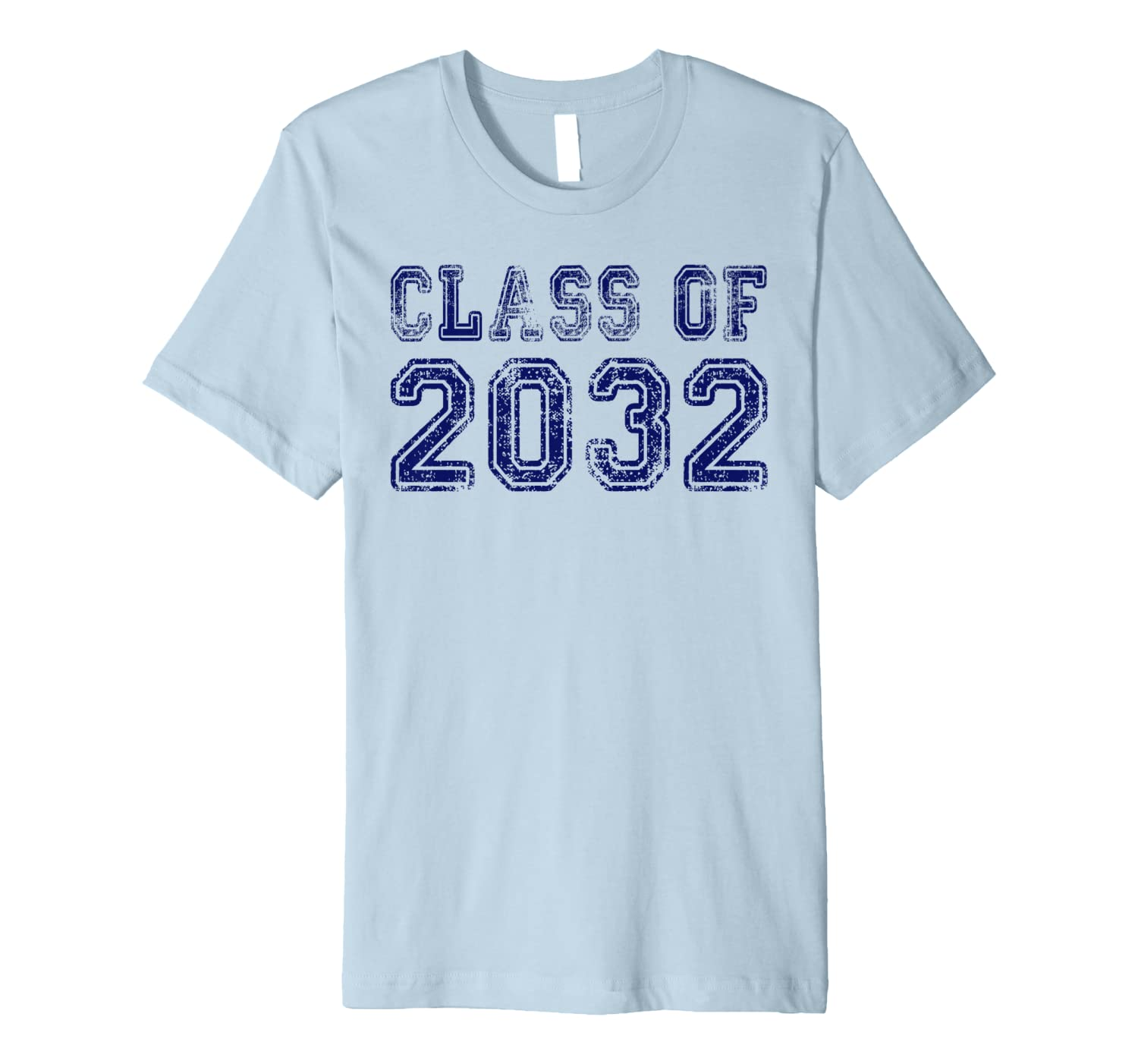 Class of 2032 Shirt First Day of School Grow With Me  Premium T-Shirt