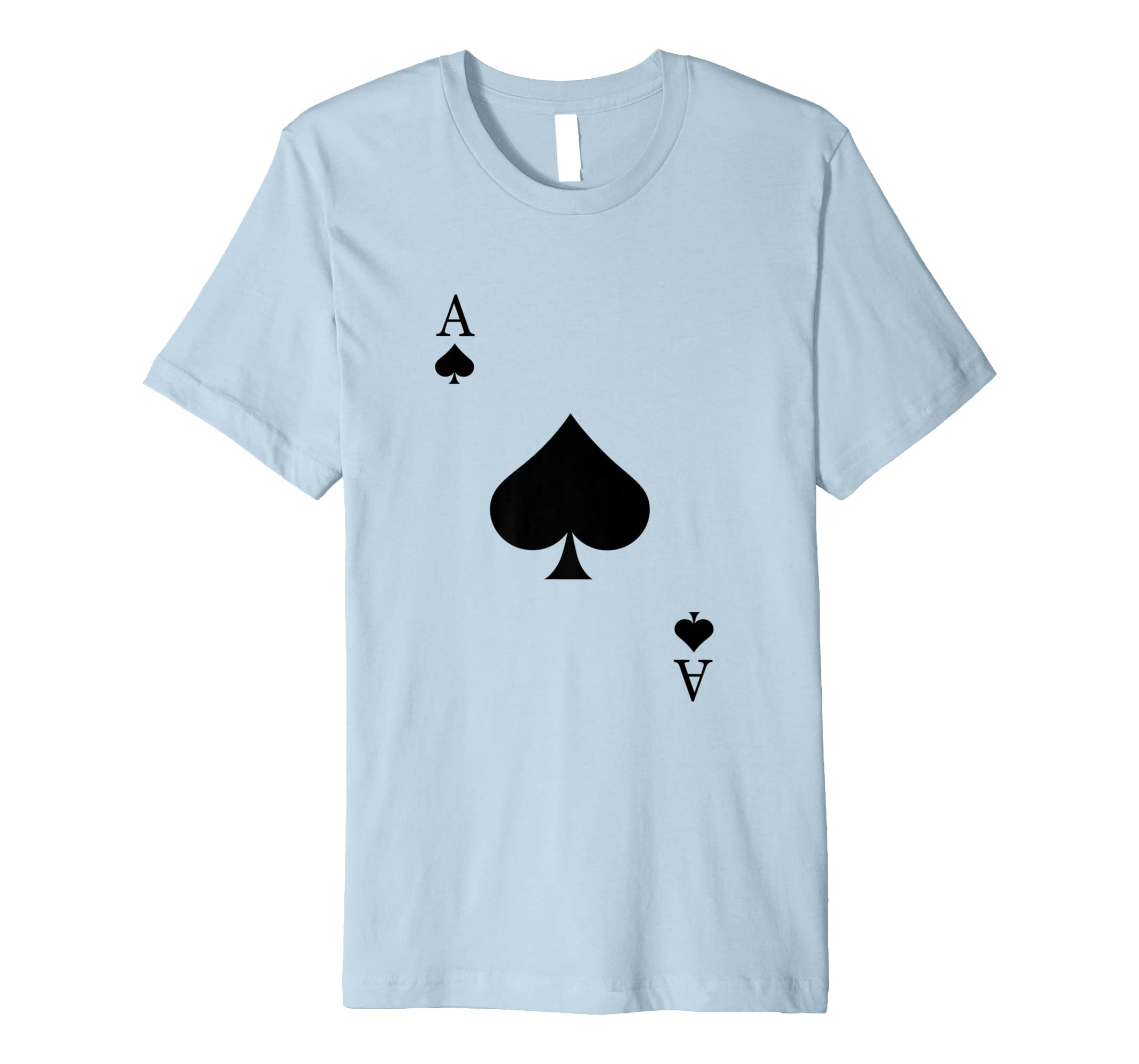Ace Of Spades Costume Shirt - Funny Halloween Gift Tshirt-Rose