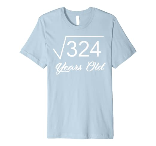 2119bc53 Image Unavailable. Image not available for. Color: 18rd Birthday T-Shirt  Gift 18 ...