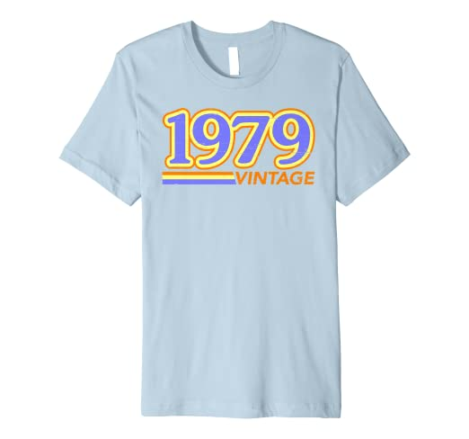 04e61f32 Image Unavailable. Image not available for. Color: Colorblind Designer  Apparel - 1979 Vintage T Shirt ...