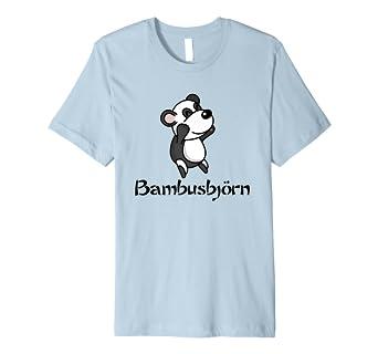 Panda Bambusbjorn Tiermotiv Baren T Shirt Kinder Erwachsene Amazon