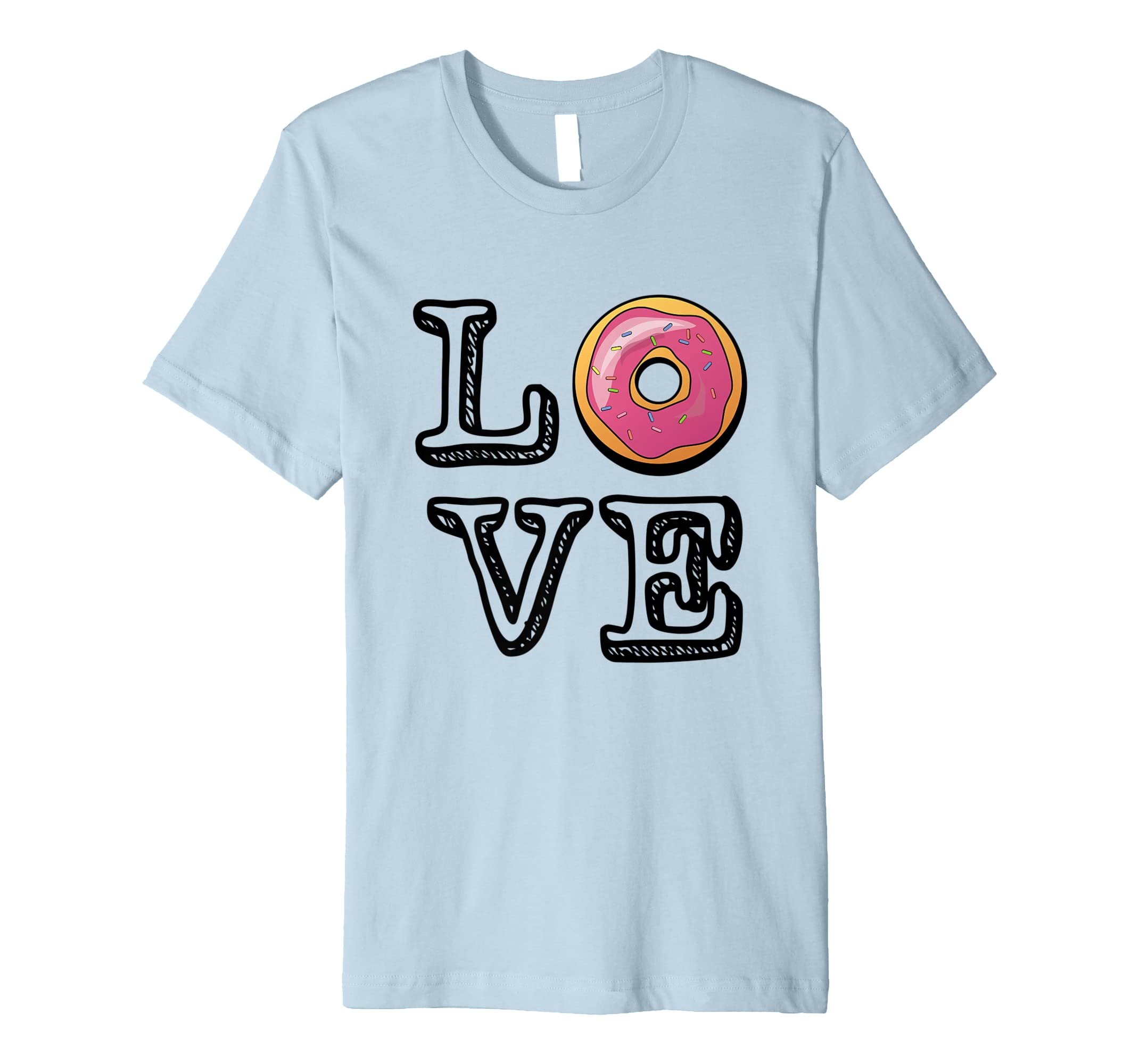 'Donut Love' Sweet National Doughnut Day Food Shirt-AZP