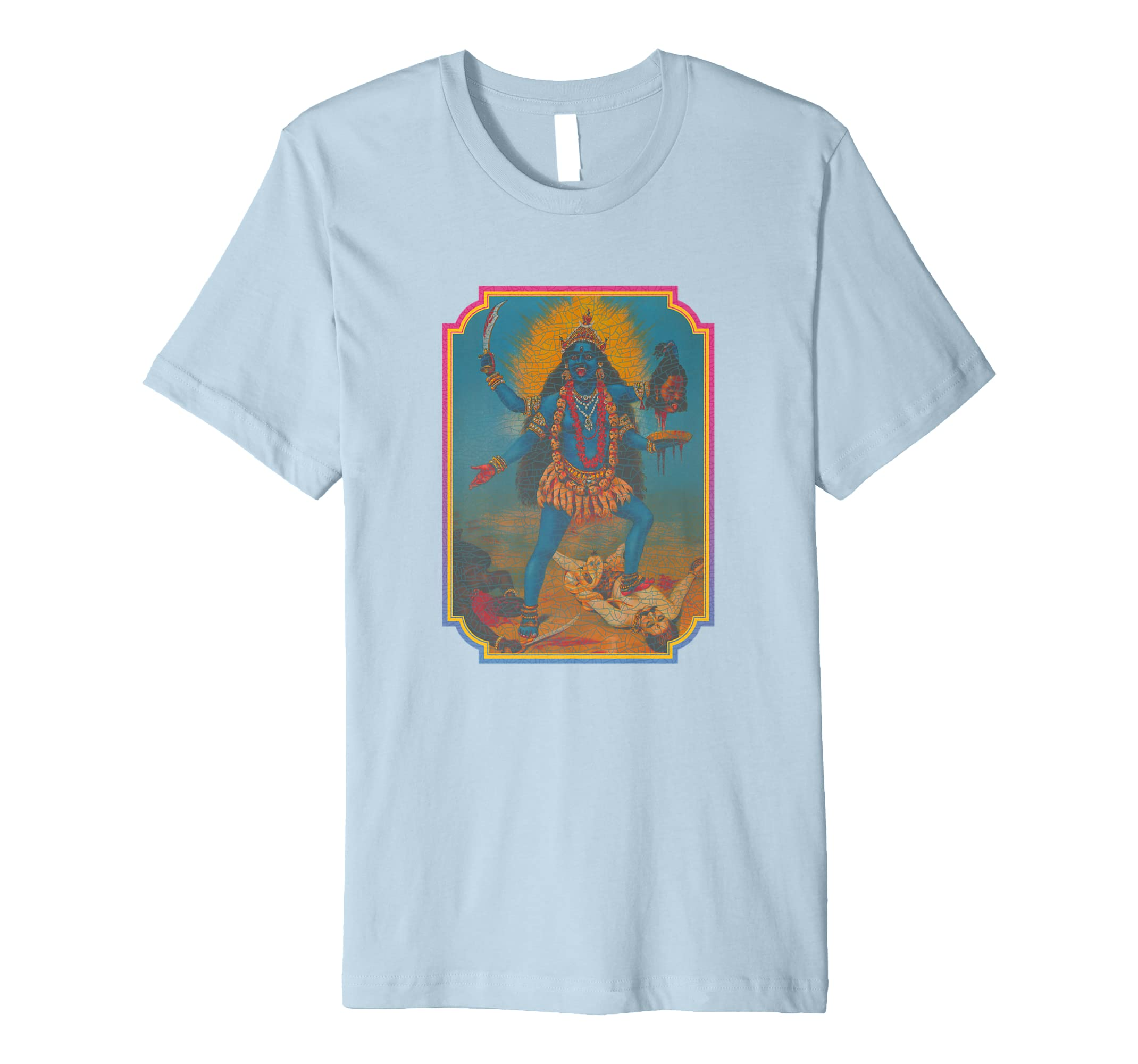 Fury of the Warrior Goddess Kali Tee-azvn
