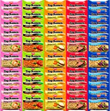 Nissin Instant Ramen Noodles Variety Pack 5 Flavors by Variety Fun (50 Count)