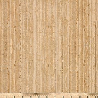 Windham Fabrics Windham Early Bird Woodgrain, Almond Yard