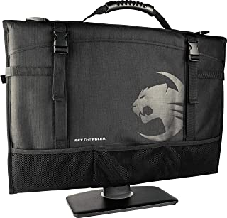 ROCCAT Latest Version Tusko Across-The-Board Flat Screen/Widescreen Bag, Black