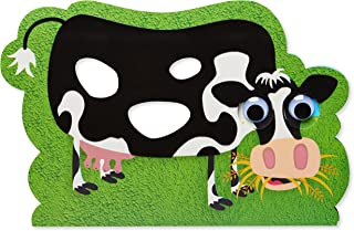 American Greetings Funny Cow Birthday Card with Googly Eyes