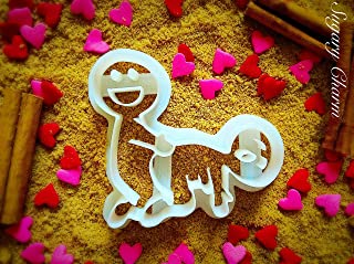The Funny Valentines Doggy Style Cookie Cutter - Valentine's Day Gifts for Him - Valentine Cutters by Sugarycharm - 3D Cookies Dough Stamps - Cute Supplies - Unique Mold for Her - Naughty Shapes
