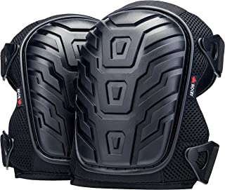 NoCry Professional Knee Pads with Heavy Duty Foam Padding and Comfortable Gel Cushion,..