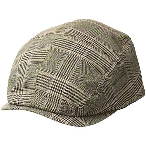 MG Men s Plaid Ivy Newsboy Cap Hat 65c7cd63b0e1