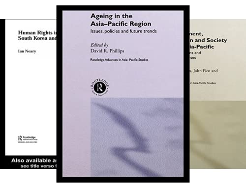 Routledge Advances in Asia-Pacific Studies (20 Book Series)