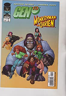 Gen 13 Monkeyman and O'Brien No. 1 Variant Cover