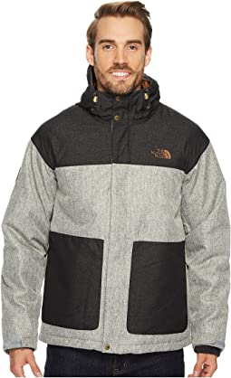 Monument Grey Herringbone/TNF Black Dobby