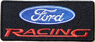 FORD V8 Logo Sport Car Racing Patch Sew Iron on Applique Embroidered T shirt Jacket Custom Gift BY SURAPAN