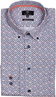 FYNCH-HATTON Colourful Graphics - Camisa para hombre